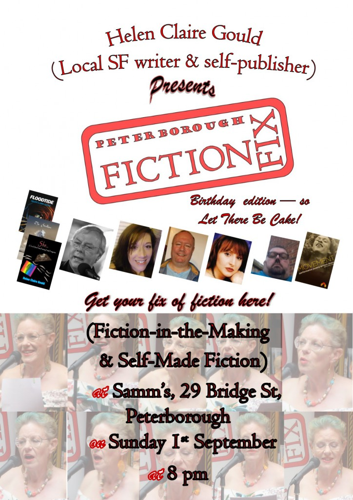 September poster for Fiction Fix