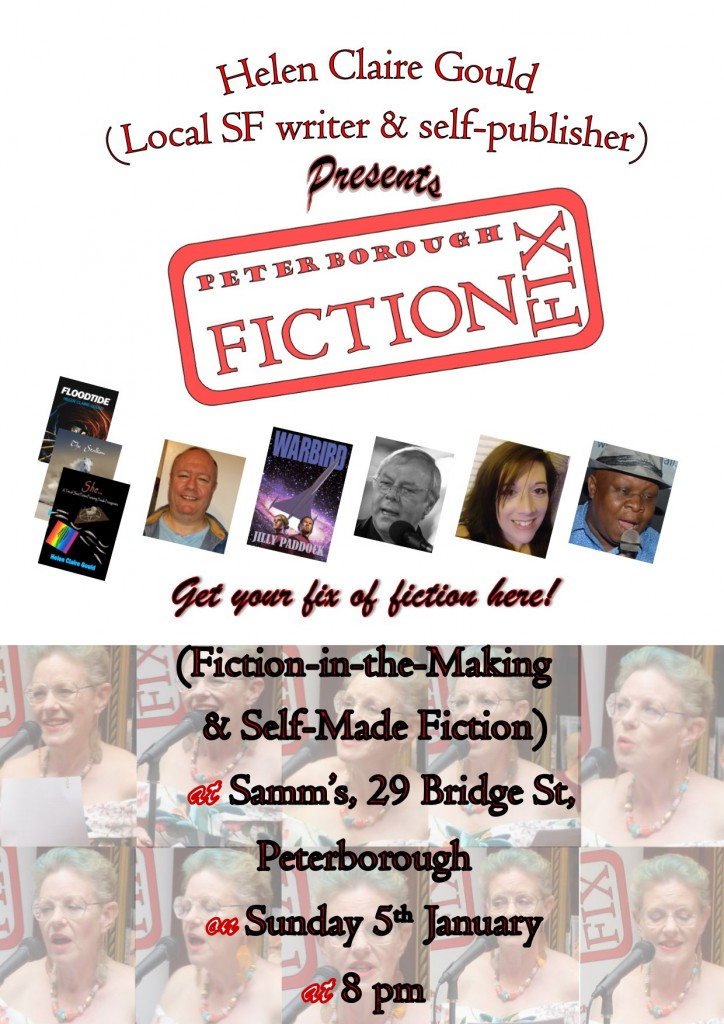 Poster for January 2020 Fiction Fix