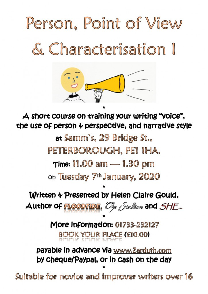 Poster for Person POV and Characterisation I