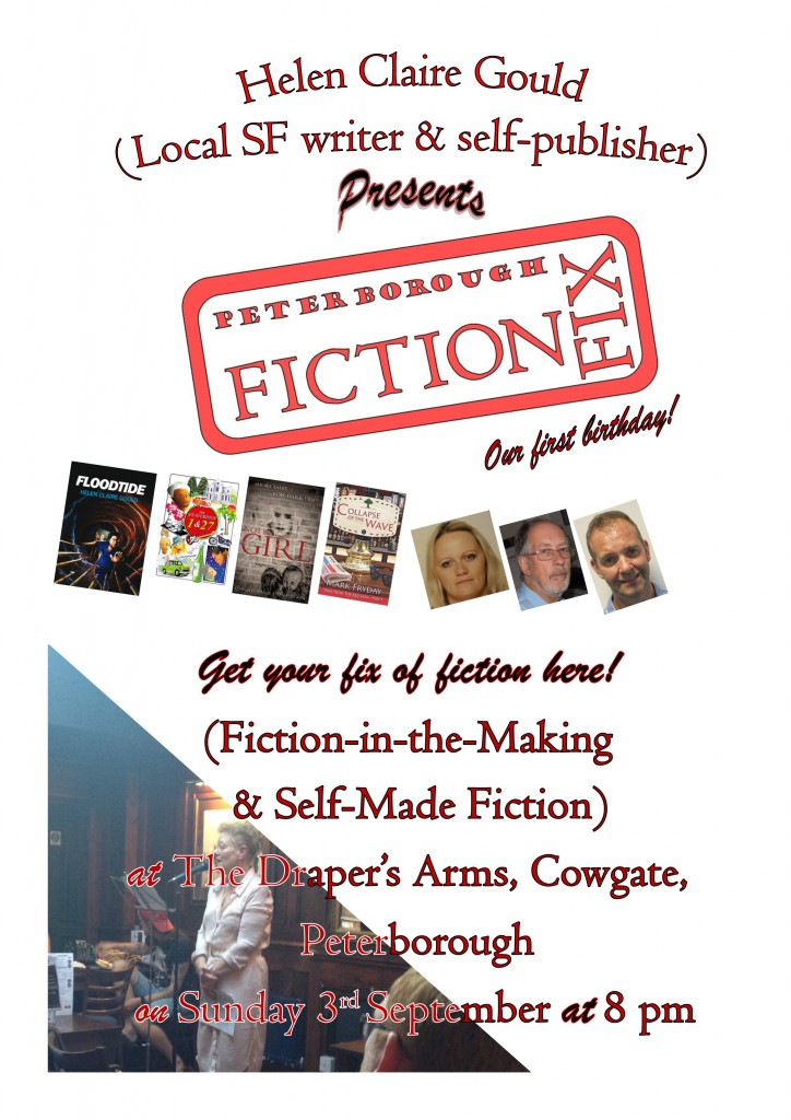 Poster for September Fiction Fix