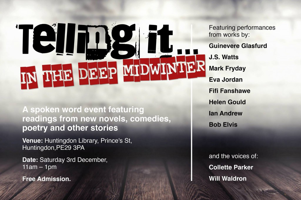 Telling It poster 3rd December 2016