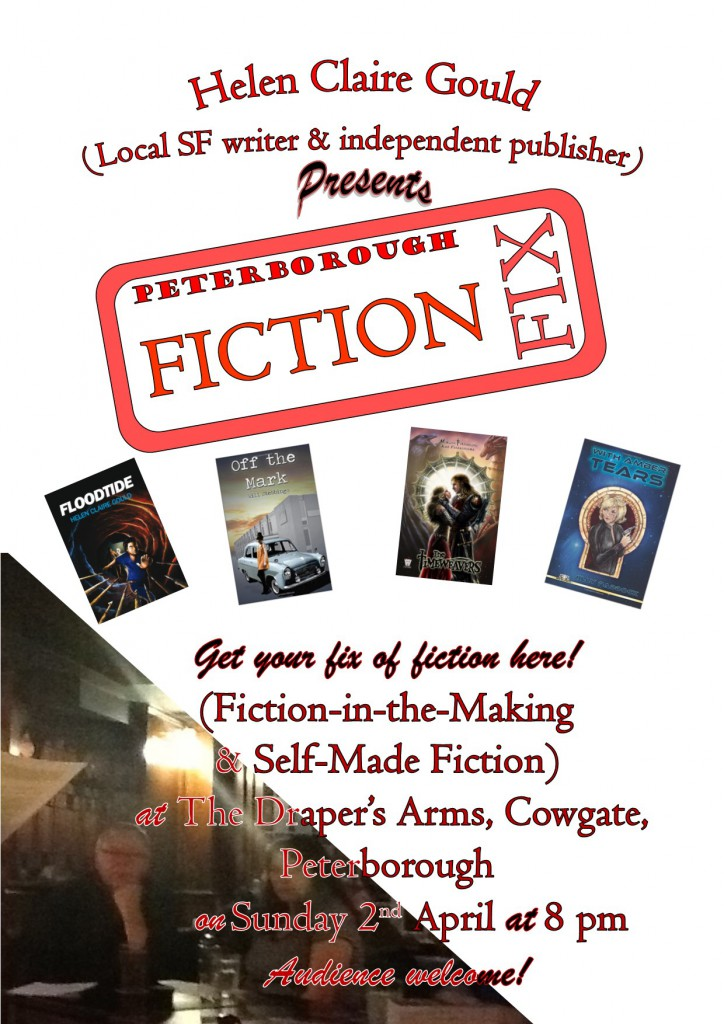 Poster for Fiction Fix on 2nd April