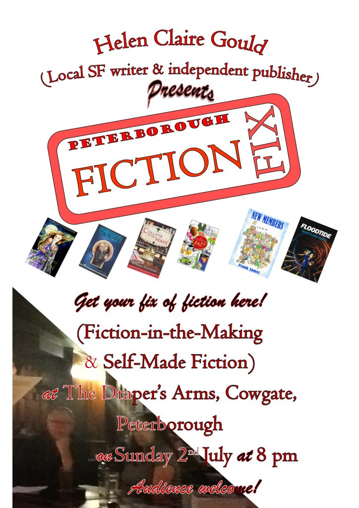 July Fiction Fix Poster