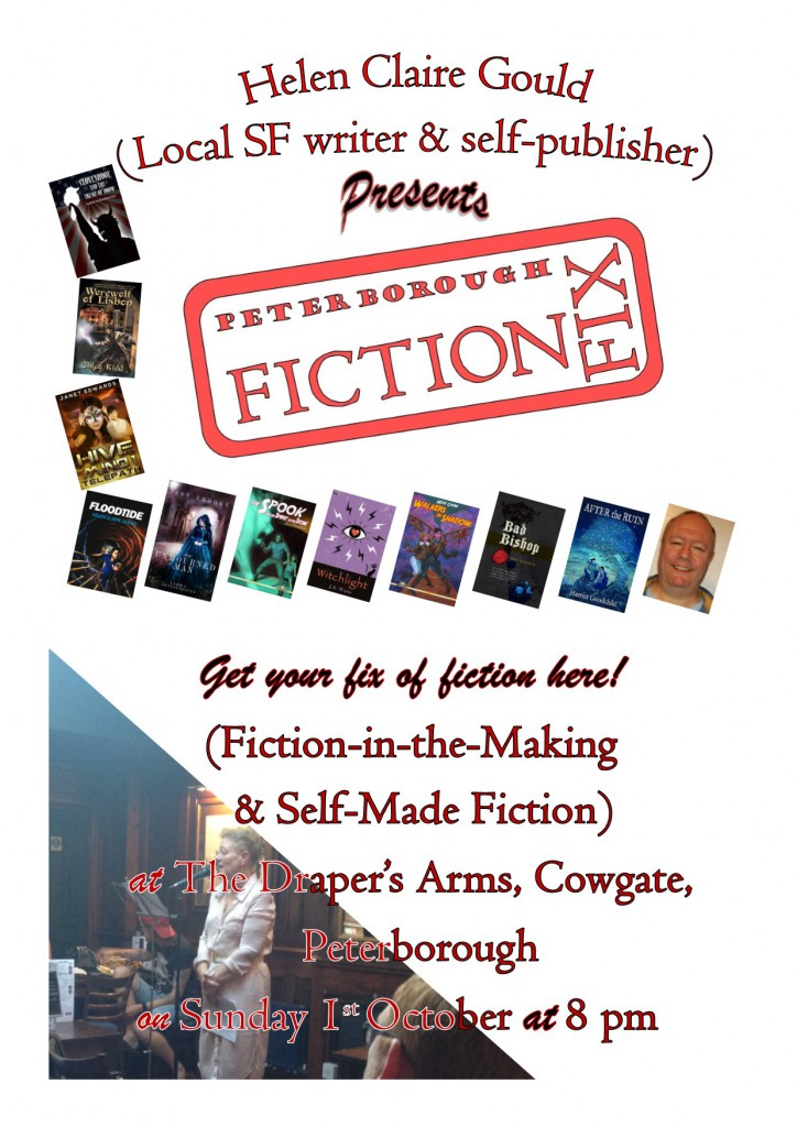 Poster for October Fiction Fix