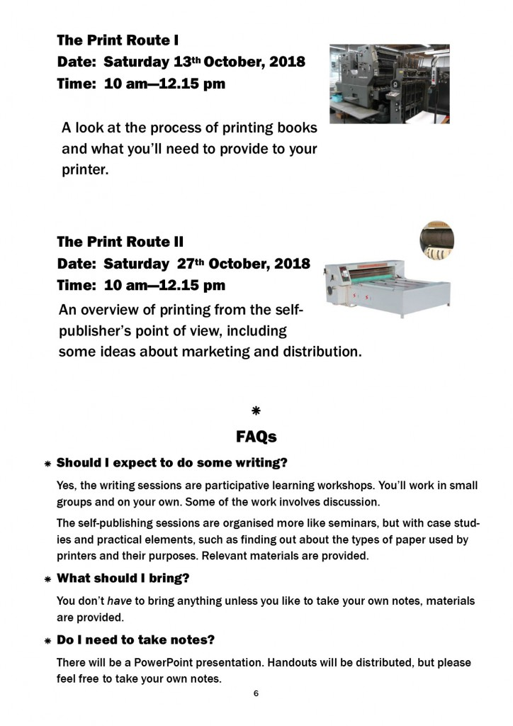 Workshop Leaflet page 6