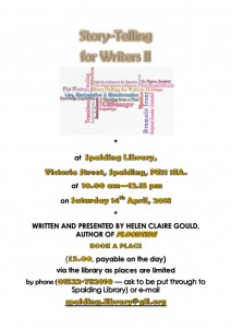 Poster for Story-Telling for Writers II