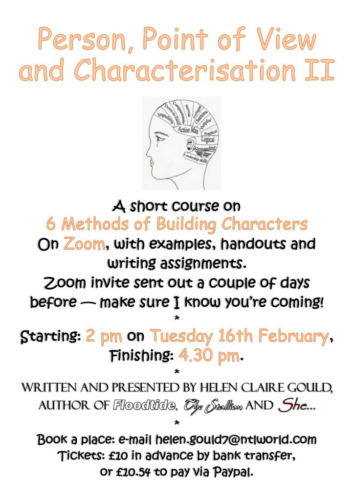 Poster for Person, POV & Characterisation II
